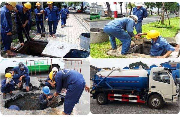 Cam kết dịch vụ hút hầm cầu