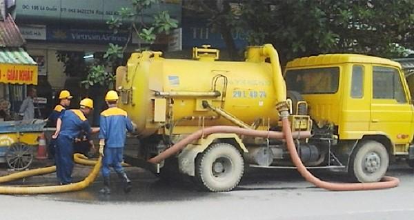 Dịch vụ rút hầm cầu Quận 6