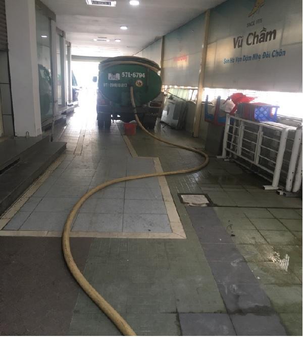 Dịch vụ rút hầm cầu công ty Phú Ngọc