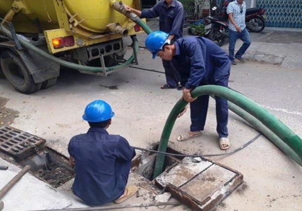 Dịch vụ thông nghẹt đường ống nước